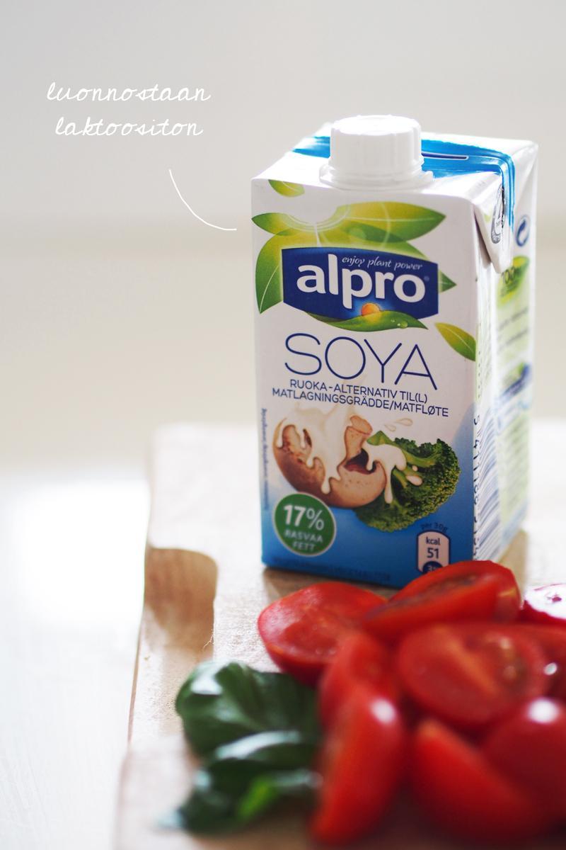 Italialainen tonnikalapiiras s moda for Alpro soja cuisine